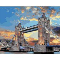Живопись по номерам Тауэрский мост, 40x50, Paintboy, GX39346