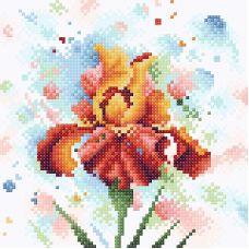 Алмазная мозаика Страстное очарование, 20x20, полная выкладка, Brilliart (МП-Студия)