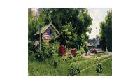Живопись по номерам Домик в деревне, 40x50, Paintboy, GX33834