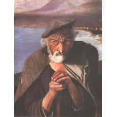 Картина Тивадара Костки Чонтвари - Старый рыбак